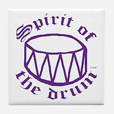 SPIRIT OF THE DRUM™ Tile Coaster
