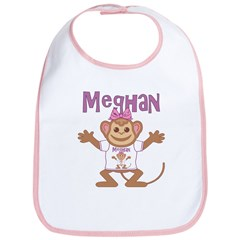 Little Monkey Meghan Bib