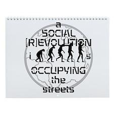 Sapiens Sapiens OCCUPY WALL ST Wall Calendar