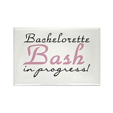 Bachelorette Bash in Progress Rectangle Magnet