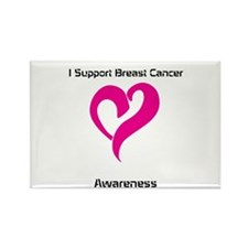 Breast Cancer Awareness Rectangle Magnet
