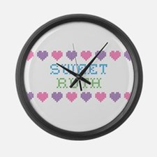 Sweet RUTH Large Wall Clock