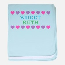 Sweet RUTH baby blanket