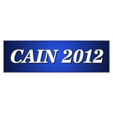 Cain 2012 Bumper Bumper Sticker