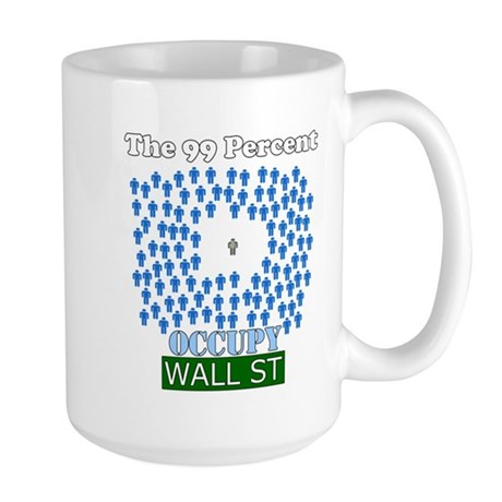 Occupy Wall Street what 99% l Large Mug