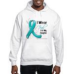 Teal Daughter Ovarian Cancer Hooded Sweatshirt
