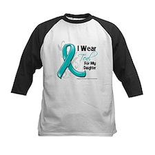 Teal Daughter Ovarian Cancer Tee