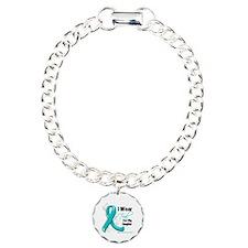 Teal Daughter Ovarian Cancer Bracelet