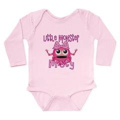 Little Monster Misty Long Sleeve Infant Bodysuit