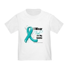 Teal Grandma Ovarian Cancer T