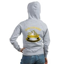 8th Cavalry Division Zip Hoodie