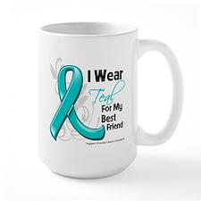 Best Friend Ovarian Cancer Mug