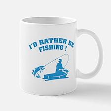 I'd rather be fishing ! Mug