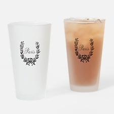 Paris Drinking Glass