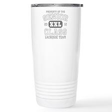 Senior 2012 Lacrosse Travel Coffee Mug