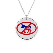 OBAMA SCREWING US Necklace