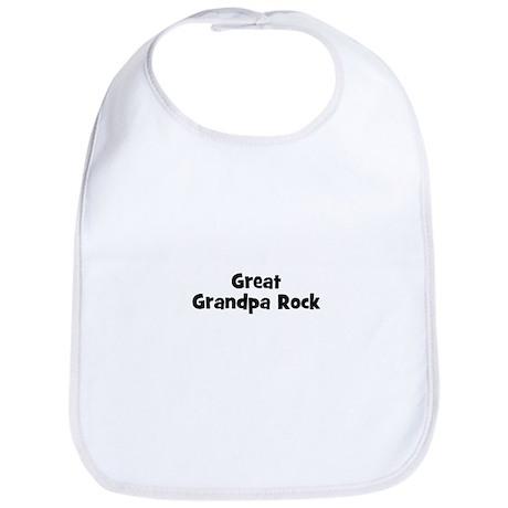 Great Grandpa Rock Bib