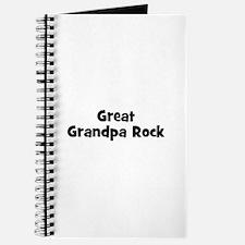 Great Grandpa Rock Journal