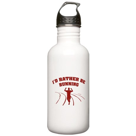 I'd rather be running Stainless Water Bottle 1.0L