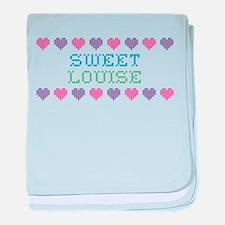 Sweet LOUISE baby blanket
