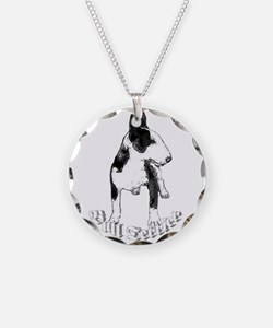 Bull terrier Necklace Circle Charm