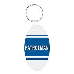Patrolman Blues Keychains