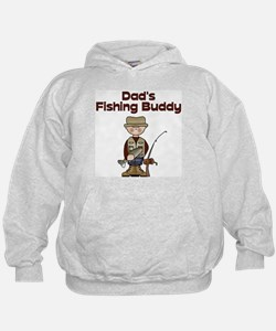 Dad's Fishing Buddy Hoodie