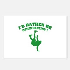 I'd rather be breakdancing ! Postcards (Package of