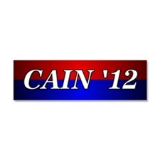 Cain '12 Car Magnet 10 x 3