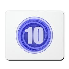 10th Birthday Mousepad