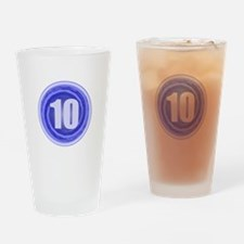 10th Birthday Drinking Glass