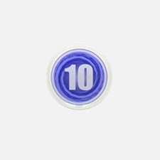 10th Birthday Mini Button (10 pack)