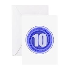 10th Birthday Greeting Card