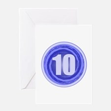 10th Birthday Greeting Card
