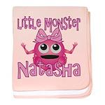Little Monster Natasha baby blanket