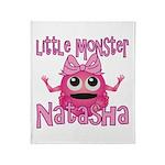 Little Monster Natasha Throw Blanket