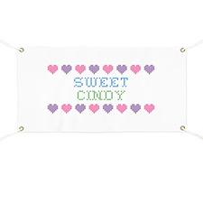 Sweet CINDY Banner