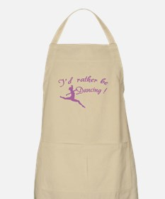 I'd rather be dancing ! Apron