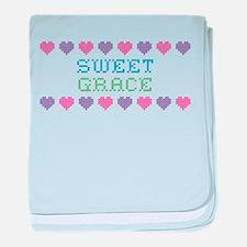 Sweet GRACE baby blanket