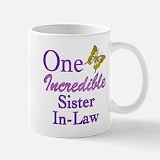 One Incredible Sister-In-Law Mug