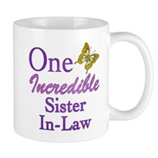 One Incredible Sister-In-Law Mug