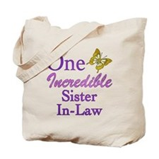 One Incredible Sister-In-Law Tote Bag