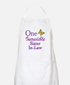 One Incredible Sister-In-Law Apron