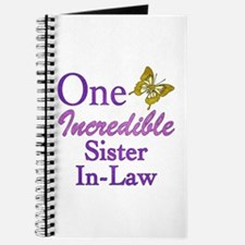 One Incredible Sister-In-Law Journal