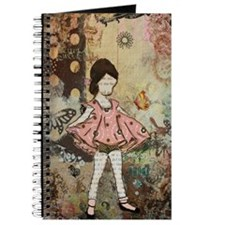 Cute Vintage Child Journal