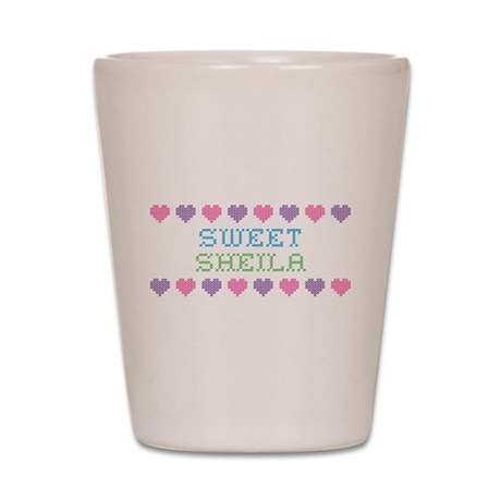 Sweet SHEILA Shot Glass
