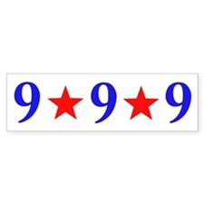 999 Herman Cain Bumper Sticker