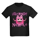 Little Monster Nichole Kids Dark T-Shirt
