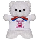 Little Monster Nichole Teddy Bear