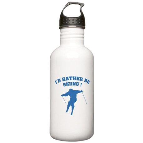 I'd rather be skiing ! Stainless Water Bottle 1.0L